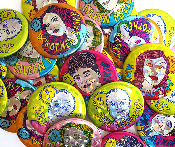pile of sparkly buttons by Ana Benaroya